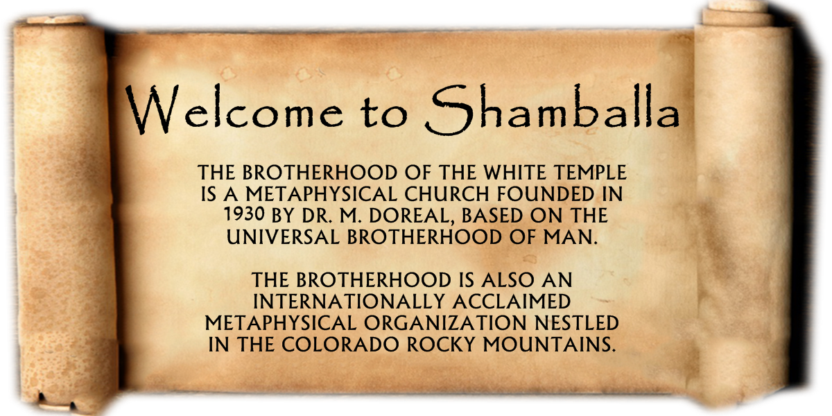 Welcome to Shamballa