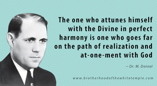 Attunement with the Divine